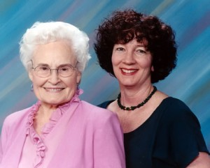 Dr. Edith Stauffer and Mary Hayes Grieco